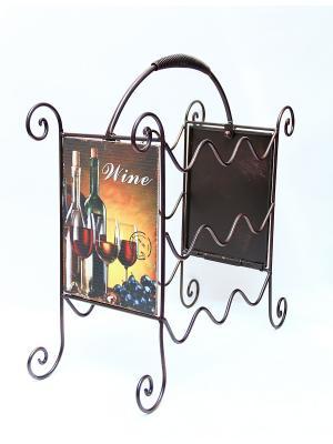 Подставка для бутылок Magic Home. Цвет: белый