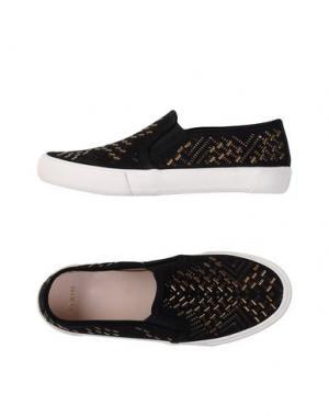 Низкие кеды и кроссовки AERIN. Цвет: черный