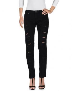 Джинсовые брюки SHOP ★ ART. Цвет: черный