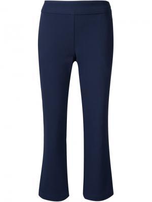 Расклешенные укороченные брюки Grey Jason Wu. Цвет: синий