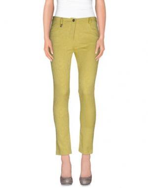 Повседневные брюки RENATO BALESTRA. Цвет: кислотно-зеленый