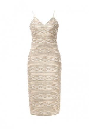 Платье Elmira Markes. Цвет: золотой