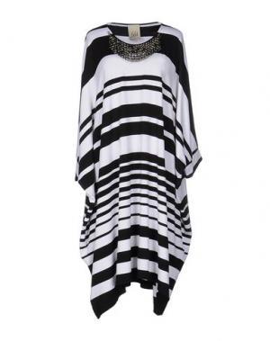 Платье до колена JIJIL. Цвет: черный