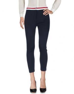 Повседневные брюки BOUTIQUE de la FEMME. Цвет: темно-синий