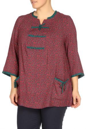 Рубашка Terra. Цвет: фиолетовый