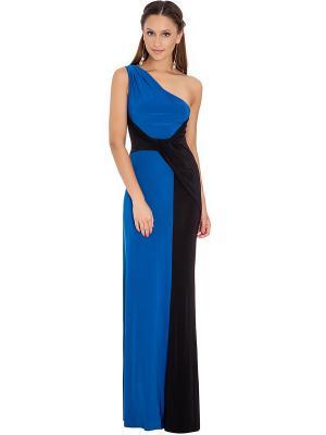 Платье Goddess London. Цвет: синий, черный