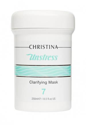 Маска очищающая Christina. Цвет: белый
