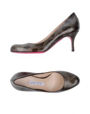 Туфли LUCIANO PADOVAN. Цвет: стальной серый