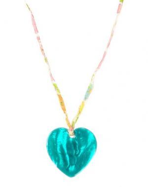Ожерелье AURÉLIE BIDERMANN. Цвет: фиолетовый