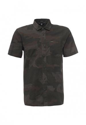 Рубашка Volcom. Цвет: хаки