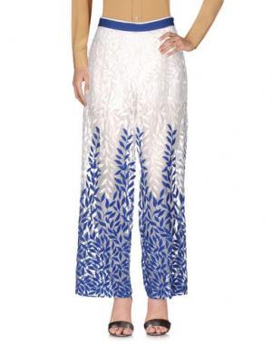 Повседневные брюки CHRISTIAN PELLIZZARI. Цвет: белый