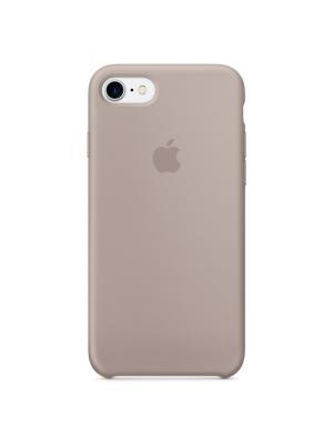 Чехол (клип-кейс) Apple для iPhone 7 MQ0L2ZM/A, серый. Цвет: серый