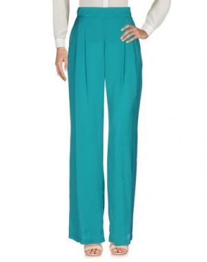 Повседневные брюки ANNARITA N.. Цвет: цвет морской волны
