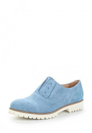Ботинки Lamania. Цвет: голубой