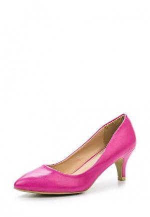 Туфли Style Shoes. Цвет: фуксия