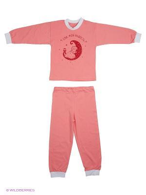 Пижамы KIDONLY. Цвет: розовый