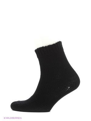 Носки из овечьей шерсти, 2 пары HOSIERY. Цвет: черный