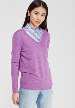 Пуловер Banana Republic. Цвет: фиолетовый