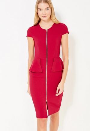 Платье Aelite. Цвет: бордовый