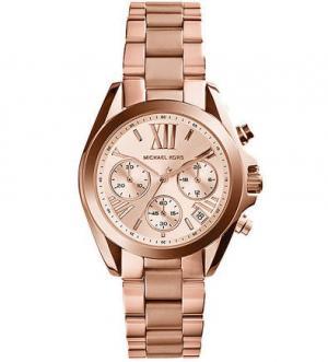 Часы-хронограф с металлическим браслетом Michael Kors