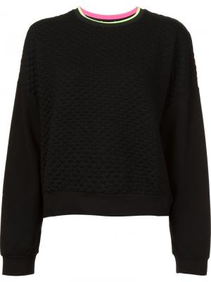 Drop shoulder sweatshirt Monreal London. Цвет: чёрный
