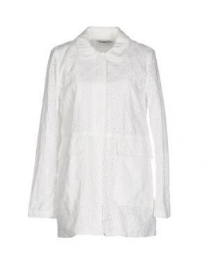 Пиджак WEILI ZHENG. Цвет: белый