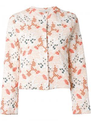 Парчовый пиджак Vanessa Bruno. Цвет: многоцветный