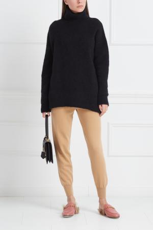 Кашемировые брюки Mixer. Цвет: бежевый
