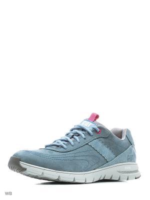 Ботинки Caterpillar. Цвет: серо-голубой, голубой