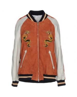 Куртка COVERT. Цвет: ржаво-коричневый