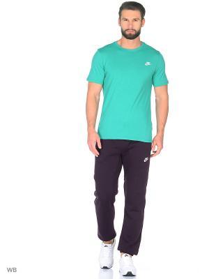 Брюки M NSW PANT CF FLC CLUB Nike. Цвет: фиолетовый