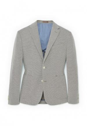 Пиджак Mango Man. Цвет: серый