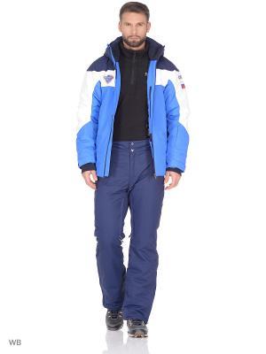 Куртка Stayer. Цвет: темно-синий, белый, голубой
