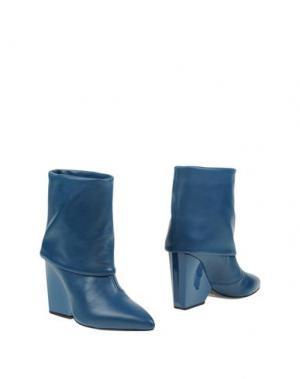 Полусапоги и высокие ботинки RAOUL. Цвет: цвет морской волны