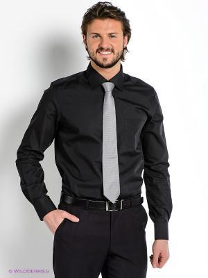 Рубашка MONDIGO. Цвет: черный