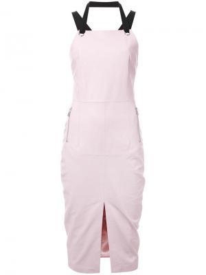 Платье Astor Rebecca Vallance. Цвет: розовый и фиолетовый