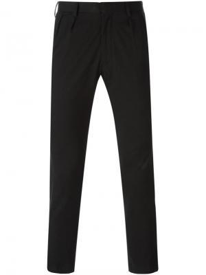 Укороченные брюки облегающего кроя Patchy Cake Eater. Цвет: чёрный