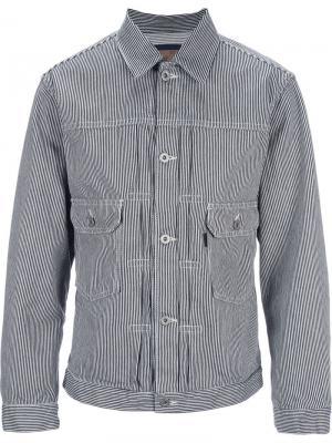 Куртка Hickory Clothsurgeon. Цвет: синий
