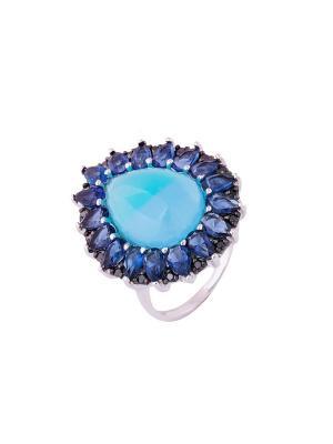 Кольцо Мастер Клио. Цвет: бирюзовый, синий