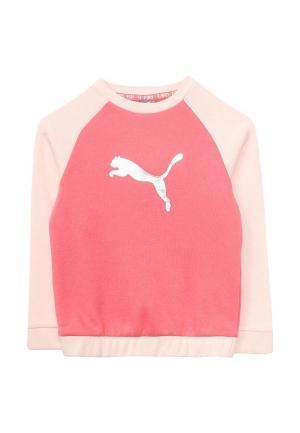 Костюм спортивный Puma. Цвет: розовый