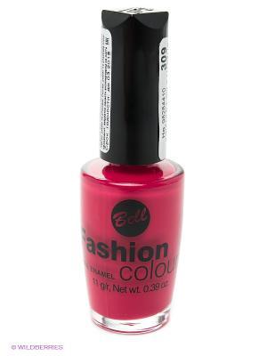 Устойчивый гипоаллергенный лак для ногтей Fashion Colour, тон 309 Bell. Цвет: розовый