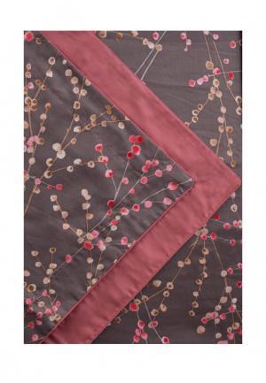 Комплект постельного белья Евро Bellehome. Цвет: коричневый