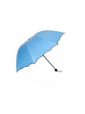 Зонт женский, механика KONONO. Цвет: голубой