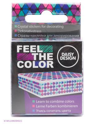 Наклейки для декорирования Magical of FEEL THE COLOR Daisy Design. Цвет: фиолетовый