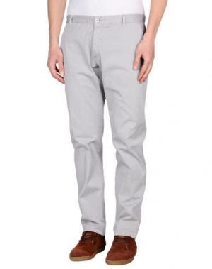 Повседневные брюки OFFICINA 36. Цвет: светло-серый