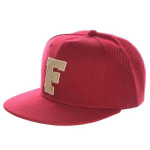 Бейсболка с прямым козырьком Truespin Abc Bordo F. Цвет: бордовый
