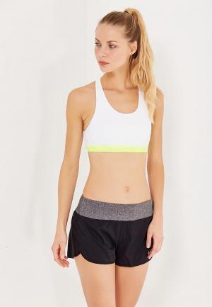 Топ спортивный Nike. Цвет: белый