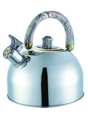 Чайник со свистком BOHMANN. Цвет: зеленый