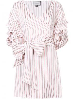 Платье Maren Alexis. Цвет: белый