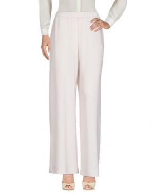 Повседневные брюки VERYSIMPLE. Цвет: светло-серый
